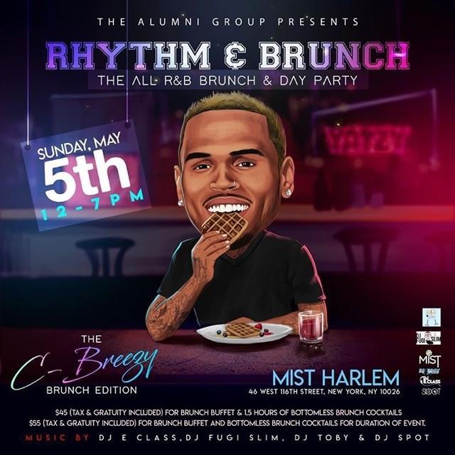 Rhythm & Brunch: The All R&B Brunch & Day Party - Chris Breezy Brunch