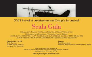 NYIT School of Architecture and Design's 1st annual...