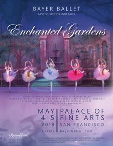 Bayer Ballet presents: Enchanted Gardens logo