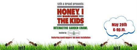 tickets available at door //  Honey I Shrunk The Kids...