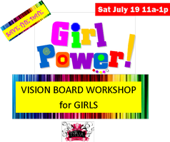 Girl Power! Vision Board Workshop for Girls