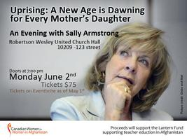 An Evening with Sally Armstrong-Human Rights Activist,...
