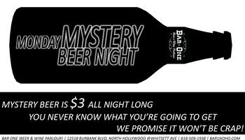 $3 Craft Mystery Beer Night
