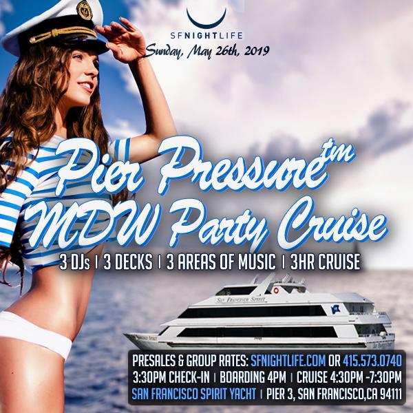 Pier Pressure SF Memorial Day Weekend Yacht Party