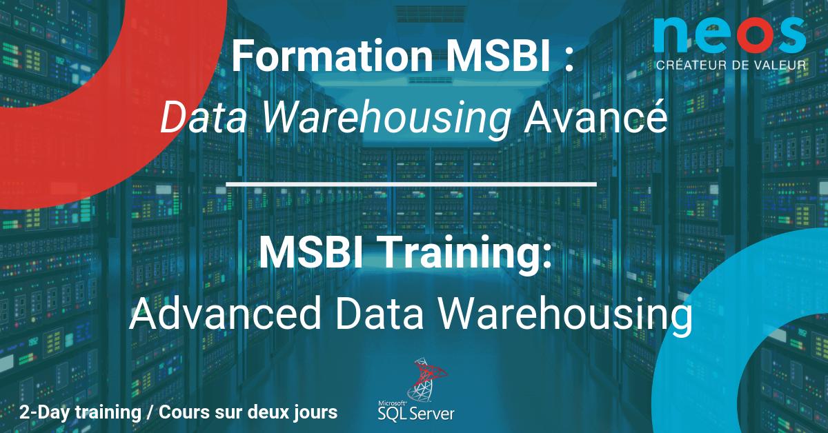 MSBI Training : Advanced Data Warehousing (MTL)