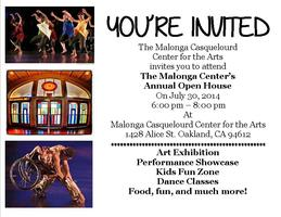 Malonga Casquelourd Center Open House 2014