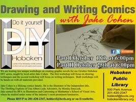 Hoboken DIY: Creating Comics Workshops Part 1: Drawing...