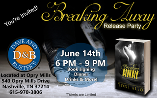 Breaking Away by Toni Aleo Release Party