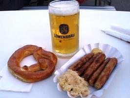Beer and Bratwurst in Berlin at Alfresco DevCon