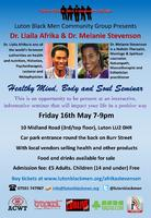 Luton Black Men Community Group - Dr. Afrika & Dr....