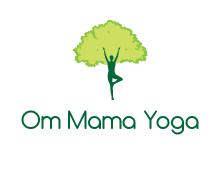 Om Mama Yoga - Kate Kretschmer logo