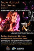 Indie Hotspot Jazz Series: Kaylene Peoples & The...