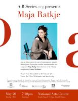 MAJA RATKJE in Concert!
