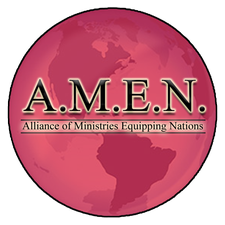 Alliance of Ministries Equipping Nations (A.M.E.N.)  logo