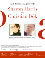 Sharon Harris & Christian Bök - Readings &...