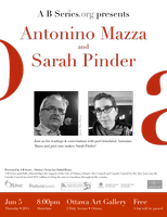 Sarah Pinder & Antonino Mazza - Readings &...