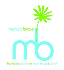 Monica Bravo, Nutrition & Life Coach, Speaker, Yogini, Energy Healer logo