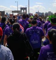 2014 Mother's Day Walk and Concert across the Brooklyn...