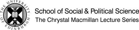 Chrystal Macmillan Lecture 2014