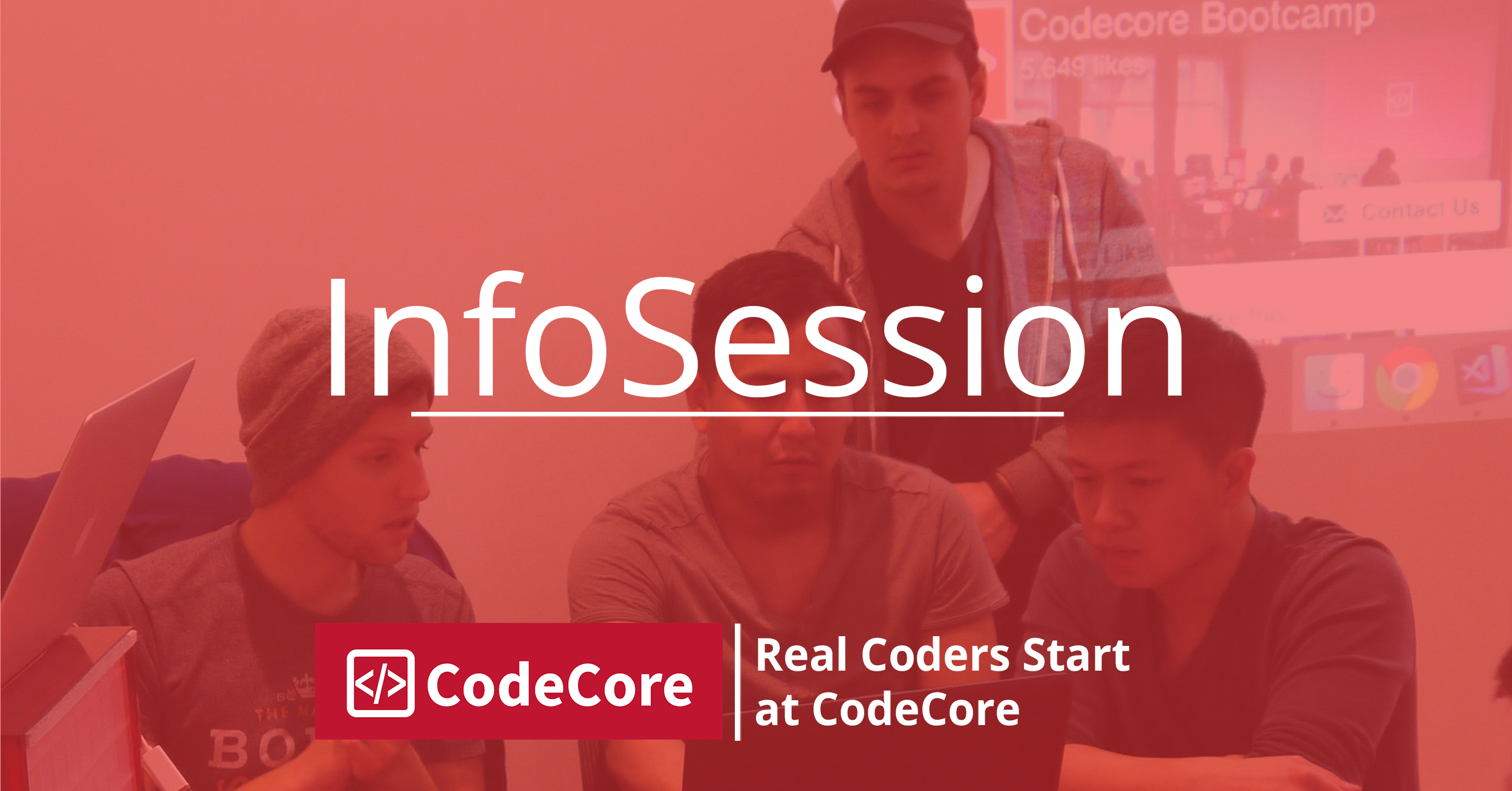 CodeCore Bootcamp InfoSession