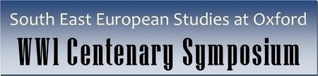 SEESOX WWI Centenary Symposium 2014