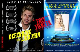 DAVID NEWTON - Live Comedy Special Shoot