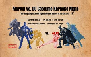 Big Brothers Big Sisters - Marvel vs DC Costume Karaoke...