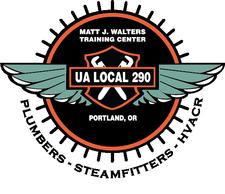 Plumbers & Steamfitters Local 290 Matt J. Walters Training Centers logo