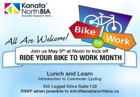 Kick off! Ride Your Bike To Work Month!
