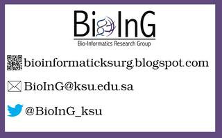 The 1st Bioinformatics Scientific Meeting in KSU...