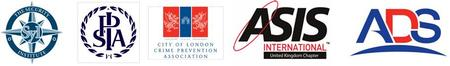 The joint security associations: The Security Institute, IPSA, City of London Crime Prevention Agency, ASIS International and the ADS Group.