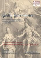 Godly Governance, 1500-1750