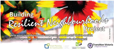 Building Resilient Neighbourhoods Workshop Series