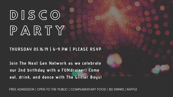 Disco Party at The Black Box Theater