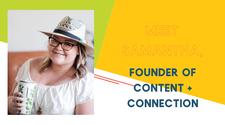 Samantha Harris, Content & Connection logo