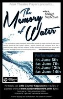 The Memory of Water by Shelagh Stephenson (Friday June...