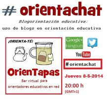 #orientachat - Blogorientación educativa