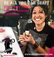 Etsy 2014 Party: All You Can Craft with the SD Craft...
