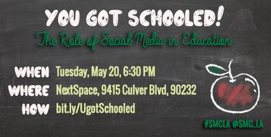 You Got Schooled! The Role of Social Media in Education