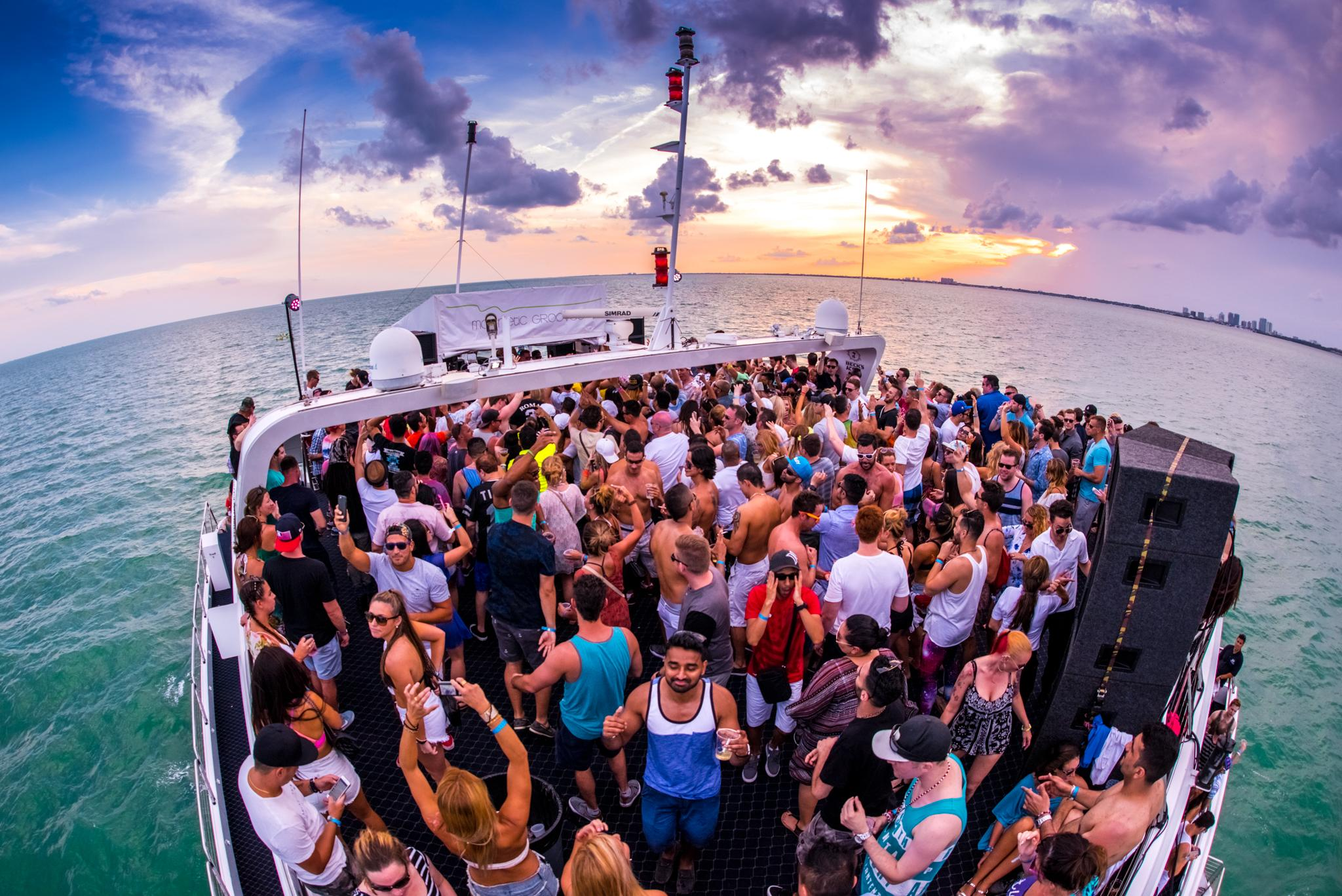 Boat Party in Miami