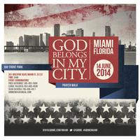 "God Belongs in My City ""Prayer Walk"""