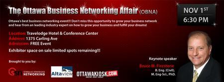 The Ottawa Business Networking Affair - November 2012