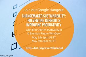 #SocEntHangout Google Hangout - Changemaker...