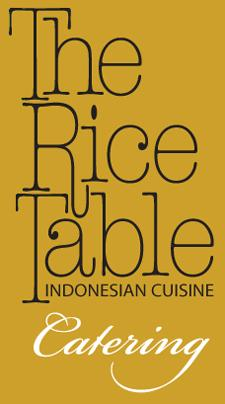 The Rice Table Indonesian Catering logo