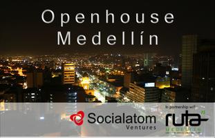 Open house Medellín, Socialatom Ventures & Ruta N