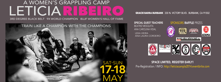 WOMEN'S GRAPPLING CAMP WITH LETICIA RIBEIRO - LA 2014