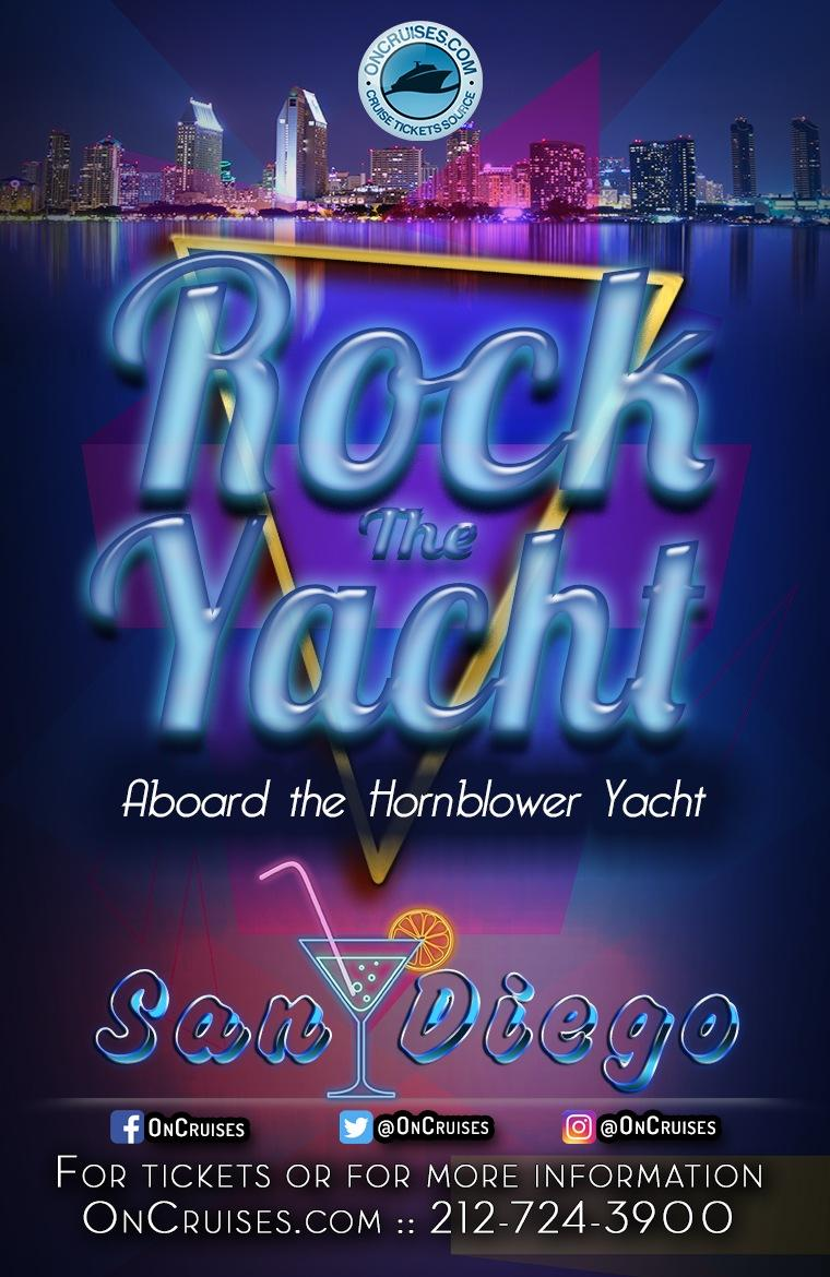 Rock the Yacht Party Cruise Aboard the Hornblower Yacht