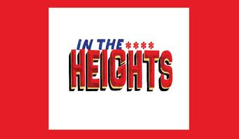 In The Heights (6/20 at 8pm)