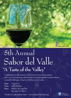 5th Annual Sabor del Valle event!