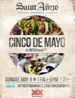 Saint Anejo Presents: Cinco de Mayo on M Street